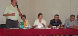 APM a organizat o dezbatere publică în care a prezentat Raportul de mediu pentru construirea fabricii Holzindustrie Schweighofer