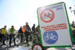 Aproximativ 5.000 de biciclisti i-au cerut sambata lui Oprescu piste speciale in capitala