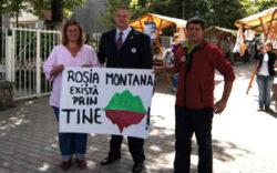 Deputatul PC Mircea Irimie, pentru Rosia Montana
