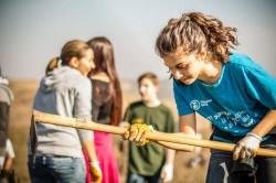 Impaduriri la Budesti cu Tasuleasa Social si voluntari