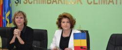 Ministrul Mediului s-a întâlnit cu comisarul european pentru Combaterea Schimbărilor Climatice, Connie Hedegaard