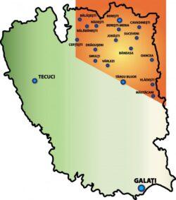 Chevron a concesionat un sfert din teritoriul judetului Galati