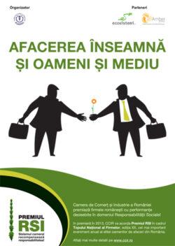 """Premiul """"Responsabilitatea Sociala a Intreprinderilor"""" 2013"""
