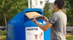 Campanie de reciclare a deseurilor in Gorj
