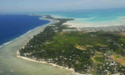 Oceanul va inghiti cea mai mare parte din insulele Republicii Kiribati, pana la sfarsitul acestui secol