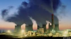 Emisiile de carbon provenite din centrale termice alimentate cu carbune continue sa creasca, dar intr-un ritm mai mic decat in anii precedenti.