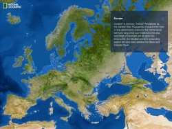 Cum ar arata harta lumii daca toata gheata de pe Pamant s-ar topi