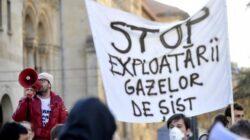 Un nou protest la Vaslui fata de explorarea gazelor de sist