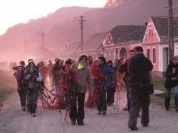 Protest la Mosna, judetul Sibiu, impotriva explorarii gazelor de sist