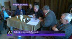 Consilierii locali din Pungesti resping din nou explorarea si decid referendum pe 24 noiembrie in comuna