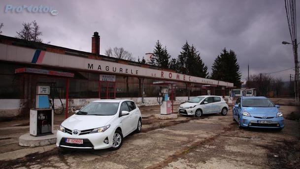 Hibridele Toyota: Invazia viitorului