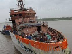 Portul Drobeta Turnu Severin, dotat cu o nava multifunctionala de preluare a deseurilor de pe Dunare