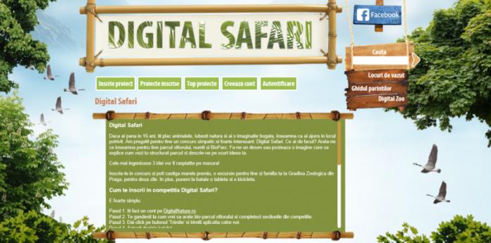 Cu Digital Safari, copiii construiesc Bio Parcul viitorului