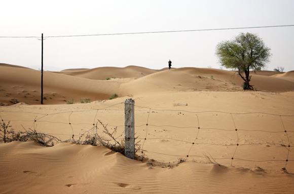 Situatie disperata in China: Desertul inainteaza spre Beijing