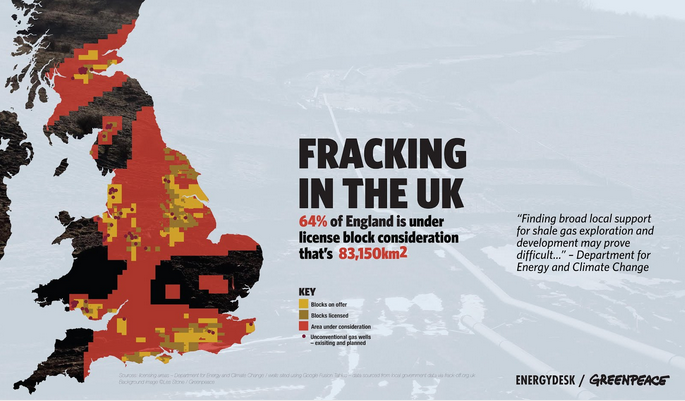 """Marea Britanie: """"Fracturarea hidraulic? prime?te unda verde"""""""