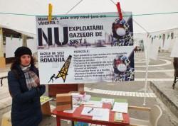 Protestatarii pentru Rosia Montana aduna semnaturi pentru o Romanie durabila