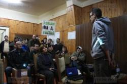 Dezbatere la Biled, judetul Timis, despre pericolele fracturarii hidraulice