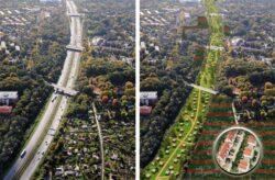 Primaria din Hamburg vrea sa uneasca prin piste de biciclete si alei pietonale inverzite toate spatiile verzi din oras