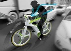 Bicicleta care te protejeaza de poluare
