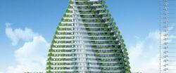 Viitorul arata altfel: Gradini de legume si livezi, integrate in blocuri turn