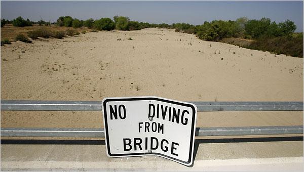 California: Cea mai grava seceta din ultimul secol
