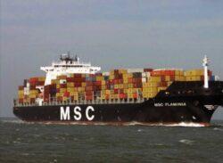 Nava Flaminia a fost decontaminata in Danemarca si va reveni la Mangalia pentru reparatii