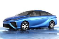 CES 2014: Toyota FCV, automobilul pe hidrogen, va intra in productie de serie din 2015
