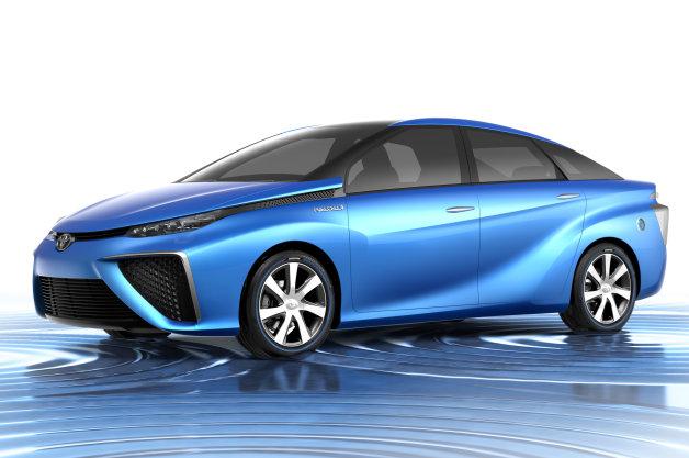 Toyota prezint? exteriorul modelului de serie alimentat cu hidrogen