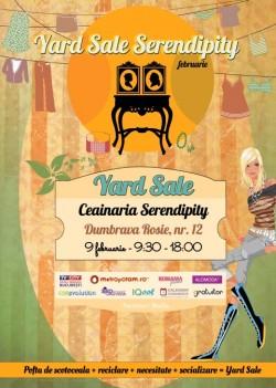 """Eveniment """"Yard Sale – REUSE, RECYCLE!"""" in Bucuresti, 9 februarie"""