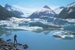 Volumul calotei glaciare a lacurilor din Alaska scade vertiginos