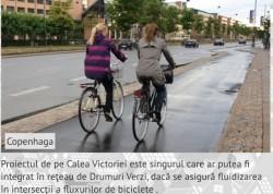 Drumuri Verzi in Bucuresti, solutie pentru traficul si poluarea din Capitala