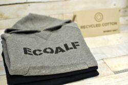 235 grame de plase de pescuit reciclate = 1 metru de material textil ECOALF