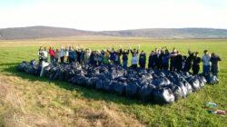 Cetatea Voluntarilor din Arad au ecologizat comuna Pancota