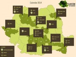 """In 2014, """"Plantam fapte bune in Romania"""" va impaduri 21 de hectare de teren"""