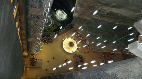 Salina Turda, pe locul 1 în lume ca fiind cel mai frumos loc de sub p?mânt