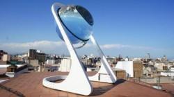 Panourile solare ar putea fi inlocuite in viitorul apropiat de un dispozitiv in forma unei sfere de sticla