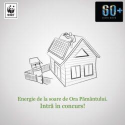 WWF pune in concurs un panou solar, in cadrul campaniei Ora Pamantului