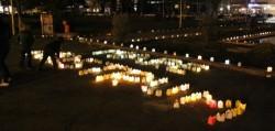 Ora Pamantului, intampinata cu mii de lumanari in Parcul Tabacarie din Constanta!