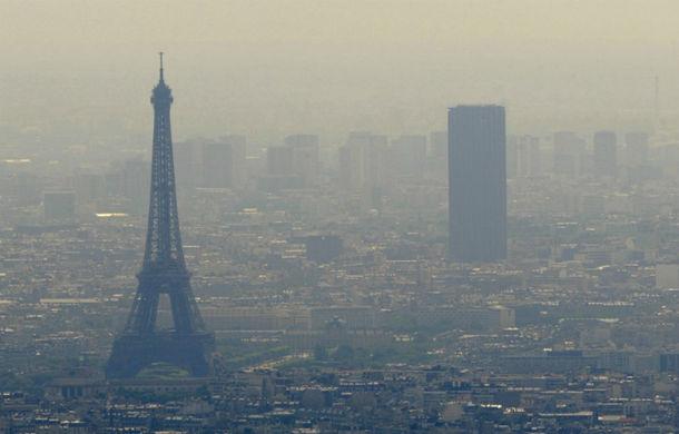 La Paris poluarea aerului e la fel de nociv? ca ?i tabagismul pasiv