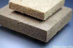 Spuma de lemn - un nou cuvant in constructii verzi