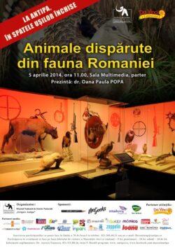 La Antipa, in spatele usilor inchise! Animale disparute din fauna Romaniei