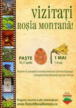 Vizitati Rosia Montana! | Excursii de primavara cu ocazia Pastelui si zilei de 1 Mai