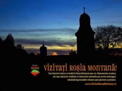 Vizitati Rosia Montana: rosienii asteapta oaspeti de Paste si 1 Mai