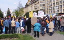 Noi proteste impotriva fracturarii hidraulice, la Timisoara