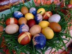 Cum sa vopsesti ouale natural