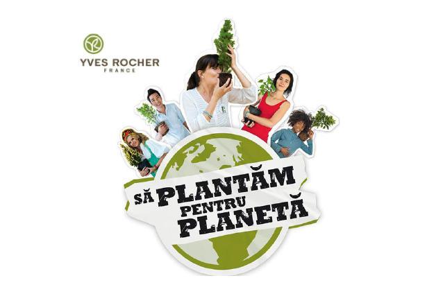 Yves Rocher a lansat oficial operatiunea de plantare a 100 000 de arbori in Romania
