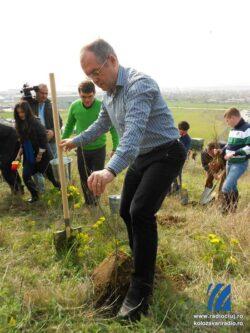 Primarul Clujului a dat lectii la plantari