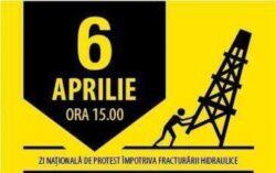 100 de ONG-uri anunţă un protest de amploare faţă de fracturarea hidraulică, în 6 aprilie