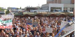 Actiuni socante pentru criminalizarea protestelor nonviolente