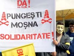Proteste fata de exploatarea gazelor de sist la Arad, Cluj, Timisoara si Vaslui